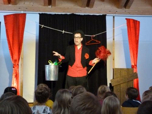 ZaPPaloTT Mülltonne Zauberer Würzburg Umwelttheater