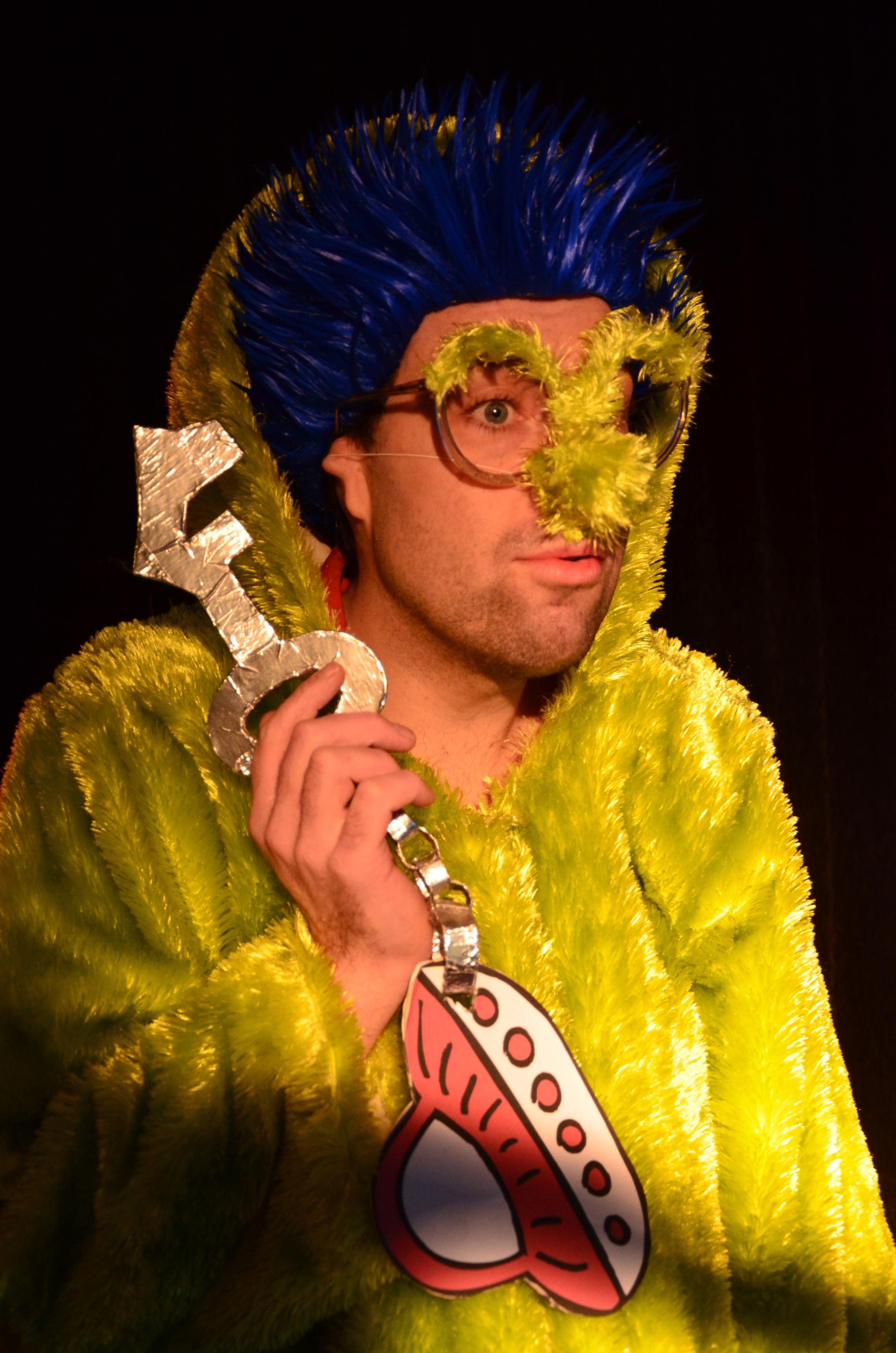 Zappalott Zauberer Auzerirdischer Kinderzauberer
