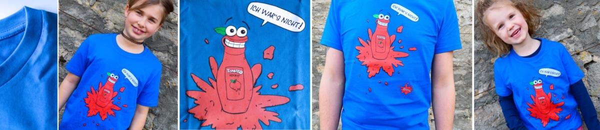 T-shirt Zappalott Tomatenmark
