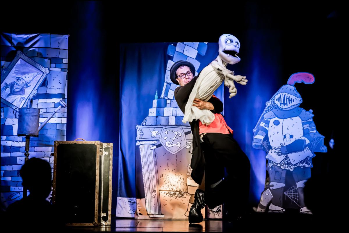 Kinderzauberer Zauberer Nürnberg Würzburg Zappalott und das Gespenst aus der Gießkanne
